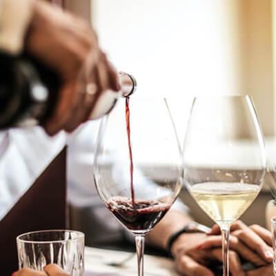 Vinul intensifică aromele