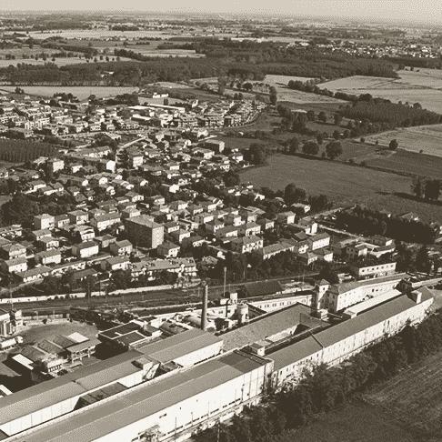 La laiterie de Giussago (dans le département de Pavie)