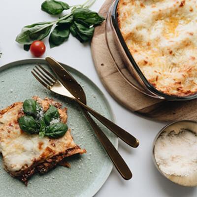 Simte gustul Italiei cu lasagna