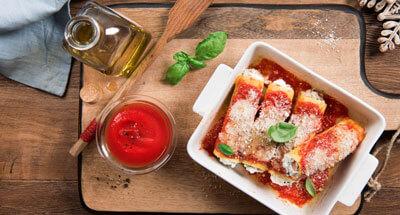 Cannelloni cu ricotta - Galbani