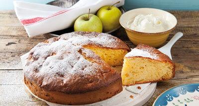 Prăjitură cu mere şi mascarpone - Galbani
