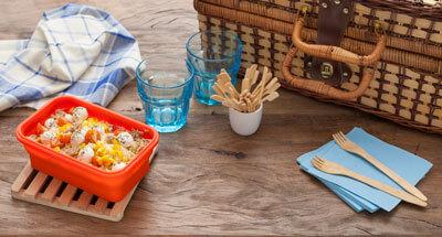 Salată cu ton și mozzarella - Galbani