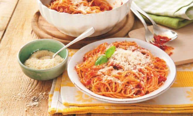 Spaghete cu sos de roşii - Galbani